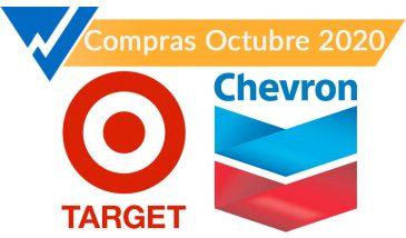 Target y Chevron. Compras de Octubre 2020