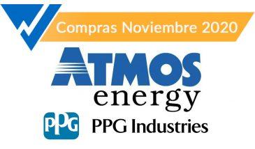 PPG y Atmos. Compras Noviembre 2020.